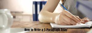 Girl Write 5 Paragraph Essay